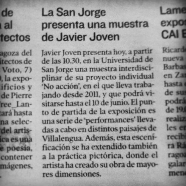 Heraldo de Aragón, 8 de mayo de 2014